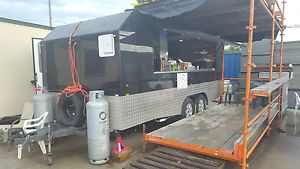 FOOD TRUCK SET UP ON CONSTRUCTION SITE 2 YEARS OF WORK NO RENT... Zetland Inner Sydney Preview