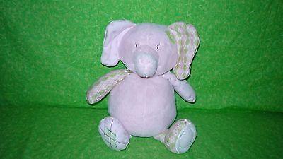 CoCalo BABY Pink Elephant PLUSH BANK Infant Savings Shower Gift Nursery Decor