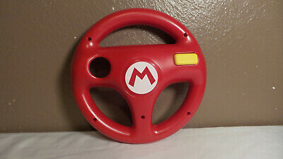Nintendo Wii U Hori Mario Kart 8 Steering Wheel Mario Red Racing 2014 Official