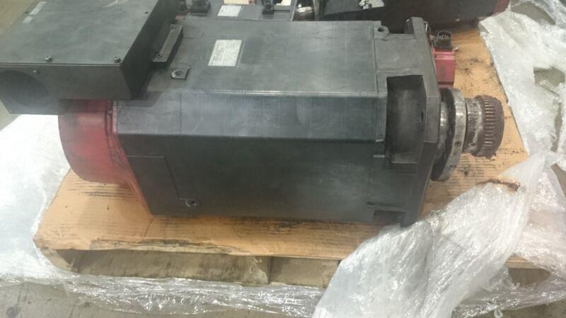 GE Fanuc AC Spindle Motor A06B-0716-B104 A06B0716B104 #3302