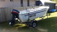 Stacer 4.1m tinie/ 40 Yamaha outboard Blacktown Blacktown Area Preview