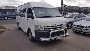 2008 Toyota Hiace Commuter Bus/Van AUTO TURBO DIESEL 14 SEATS Williamstown North Hobsons Bay Area Preview