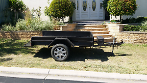7x4 STEEL BOX TRAILER Walkley Heights Salisbury Area Preview