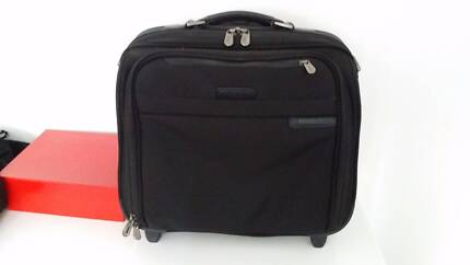 Computer trolley case - Briggs and Riley - Excellent Condition Windsor Stonnington Area Preview