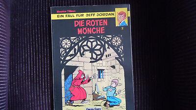 Jeff Jordan Nr 7, Die roten Mönche  Carlsen 1.Aufl 1987