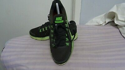MEN'S NIKE LUNARGLIDE 4 LEATHER/TEXTILE LACE UP TRAINERS SZ UK 7 GREAT COND