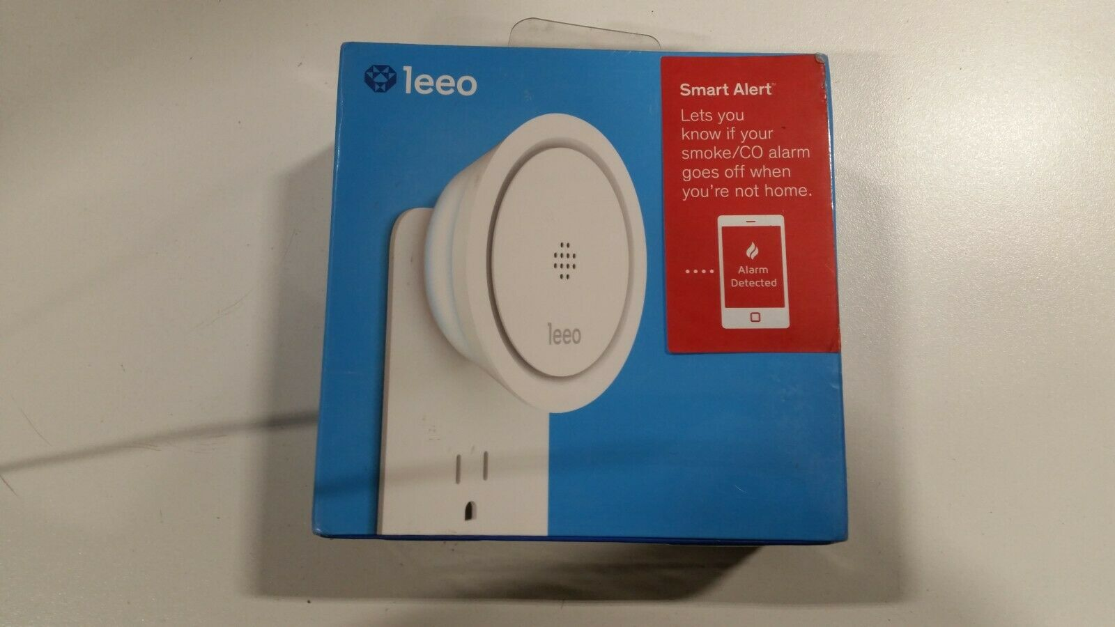 Leeo Smart Alert Smoke/CO Remote Alarm Monitor for iOS and A