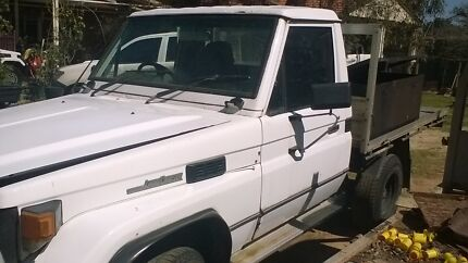 Wanted to buy 75 series ute Toyota Land Cruiser Ute Midland Swan Area Preview