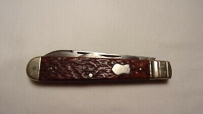 Vintage John Primble HDW & MFG Co Pocket Knife #4042, 2 Blade, Spear