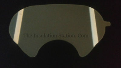 25 Respirator Lens Cover 3m 6885 - 6000 Series Compatible High Quality Usa Made