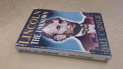 Lincoln the Unknown, Dale Carnegie, Worlds Work, 1947, Hardcover for sale  Shipping to India