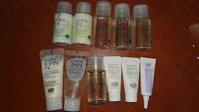 Whamisa Natural Fermentation Organic [Skin Care Kit] Mini Travel Size 11 bottles