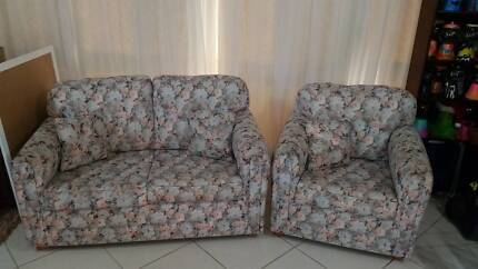 Sofa -  2 Seater + 1  Seater with matching cushions