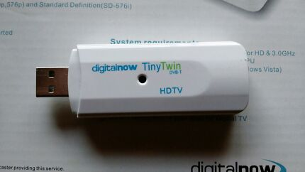 Twin USB TV Tuner for PC Moonah Glenorchy Area Preview