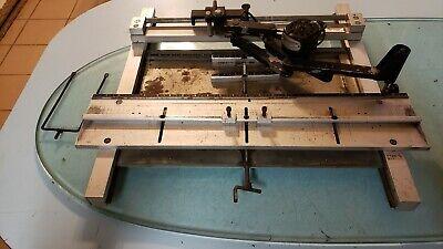Scott Sm-300 Engraving Machine 117v 0.5a