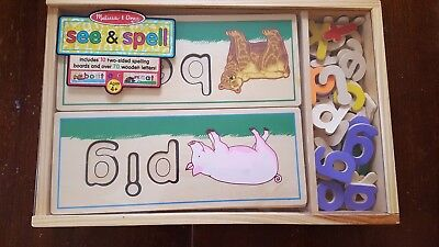 Melissa & Doug - See and Spell Child