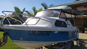 Haines Hunter half cabin boat Bongaree Caboolture Area Preview