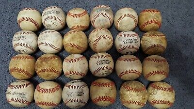 BASEBALLS PRACTICE  LOT OF 24