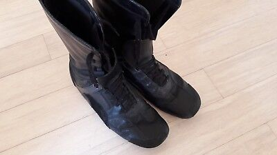 Puma By Neil Barrett Black Leather Boots RARE VINTAGE / Made In Italy