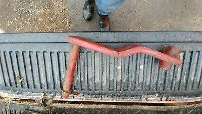 Rockshaft Thru Seat 2 Point Fast Hitch Ih Farmall Super C 200 2pt Cylinder Lift