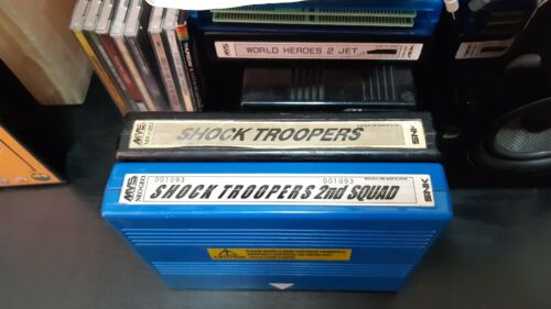 NeoGeo MVS Shock Troopers 1 and 2nd Squad collection