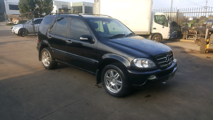 Mercedes benz ml500 2002