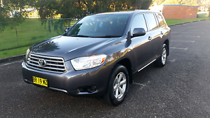 2008 TOYOTA KLUGER KX-R AWD Tenambit Maitland Area Preview