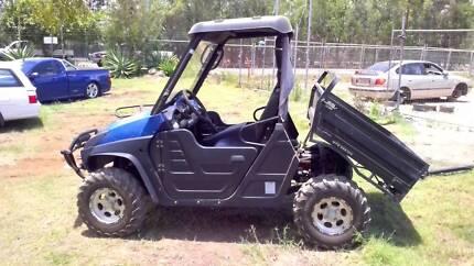 2014 APPLESTONE UTV 4X4 BUGGY, 600CC MULE FARM TRUCK PETROL ATV