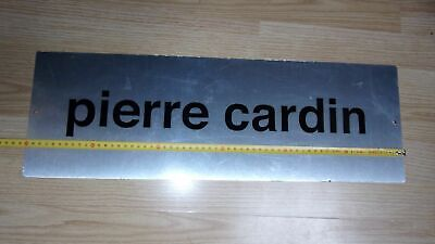 Enseigne PIERRE CARDIN,original Sign Display ,French Luxury Store CLOTHES sign