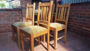 Dining chairs. Bossley Park Fairfield Area Preview