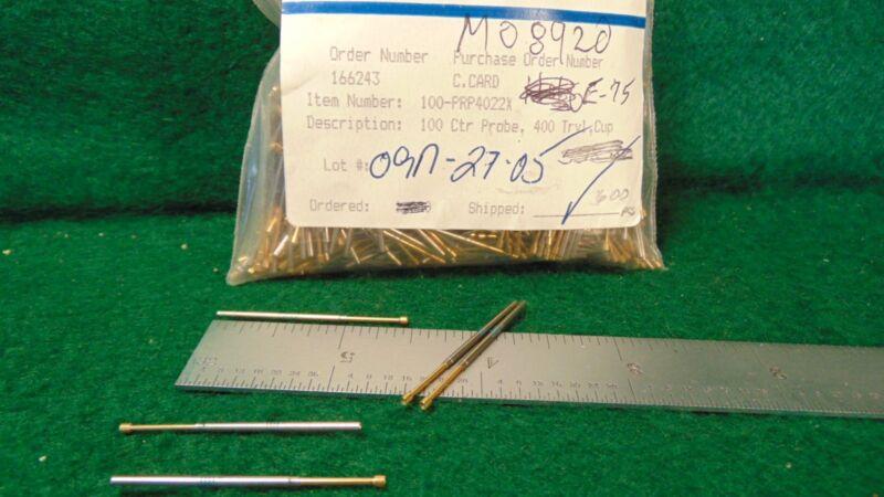 (50) QA Technology 100-PRP4022X 100 Ctr Probe, 400 Trvl, Cup NOS