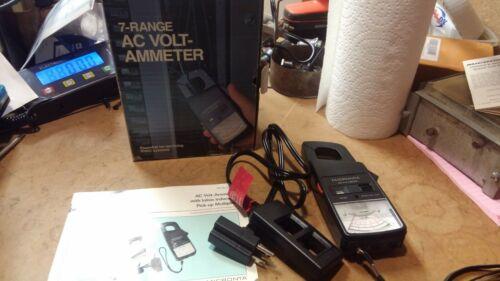 MICRONTA  22-161. 7-Range AC Volt-Ammeter w/ Inline Inductive Pick-up Multiplier