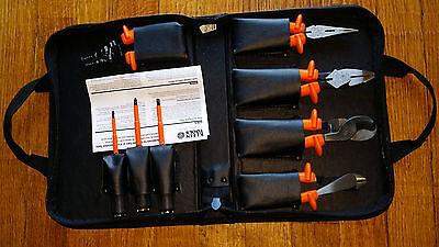 Klein Tools 33529 Insulated Tool Set Klein-kurver 8 Pc