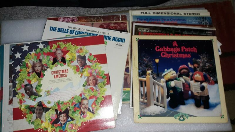 Vintage Vinyl Records Christmas LP Albums You Pick !! Holiday Classic Christmas