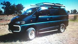 1994 Mitsubishi Delica 4x4 campervan Townsville Townsville City Preview