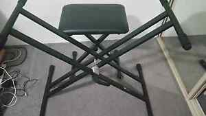 Stand keyboard and chair Bankstown Bankstown Area Preview