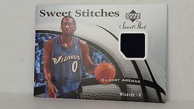 Wizards Arenas (2006-07 Sweet Shot Stitches SS-GA GILBERT ARENAS (Wizards))