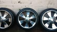 """Alloy wheels 18"""" × 4. Five stud pattern. Belconnen Belconnen Area Preview"""
