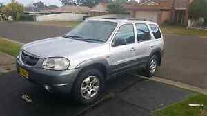 Mazda tribute 2002  V6 12 months rego Green Valley Liverpool Area Preview