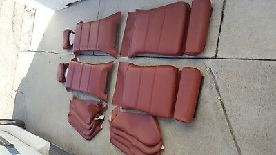 Used, BMW E30 325i 318i 325IS SPORT SEATS CARDINAL RED UPHOLSTERY KITS  M3 CONVT NEW for sale  Seal Beach