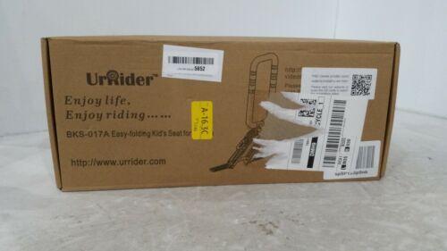 UrRider Child Bike Seat,Foldable & Ultralight for Cruiser or City Shared Bikes