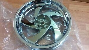 Honda GL1800 Goldwing Rear Wheel Rim Chrome GL 1800 No Exchange
