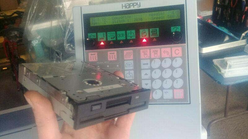 Happy Embroidery Machine Floppy Drive