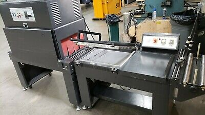 Kunba Model Fl-5045t Shrink Wrapping Machine And Heat Tunnel