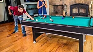 "TriumphSports 84"" Billiard Table and Table Tennis"