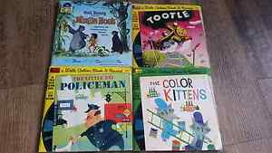 Little Golden Book DISNEYLAND books with records. Boronia Heights Logan Area Preview