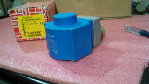 Danfoss 018F6887 Coil With connectin box IP67 Solenoid Valve Transducer