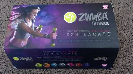 Zumba DVD Complete Set with TONING STICKS