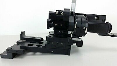 Thorlabs 2-axis Xy And 1-axix Z Bearing Stage Micrometers Base Mount