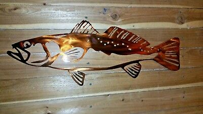 "Sculptures 18"" Speckled Trout-Hand Made in"